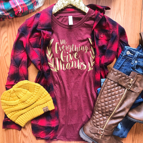 Campfire Classic Flannel Top