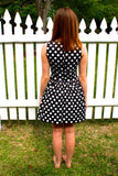 Pretty Polka Dot Dress - Collette's Closet Boutique