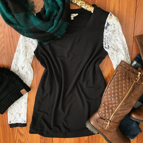 Laced In Love Top
