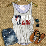 Deep In The Heart Of Texas Tank - Collette's Closet Boutique