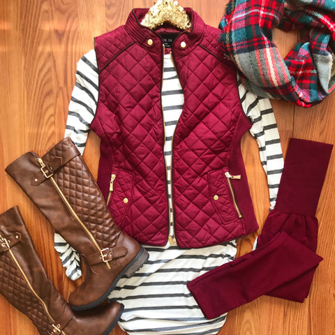 Heart And Soul Striped Tunic
