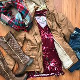 Nights At The Cabin Jacket - Collette's Closet Boutique