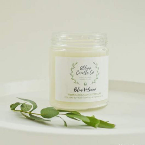 Blue Volcano Soy Candle