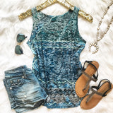 Run To The Ocean Tank - Collette's Closet Boutique