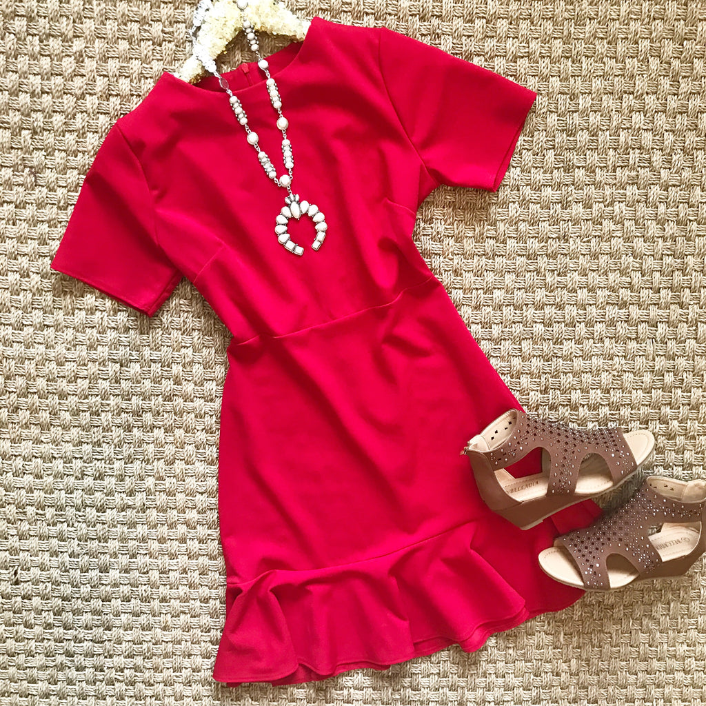 Little Red Dress - Collette