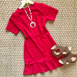 Little Red Dress - Collette's Closet Boutique