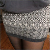 Diamond Knit Skirt - Collette's Closet Boutique