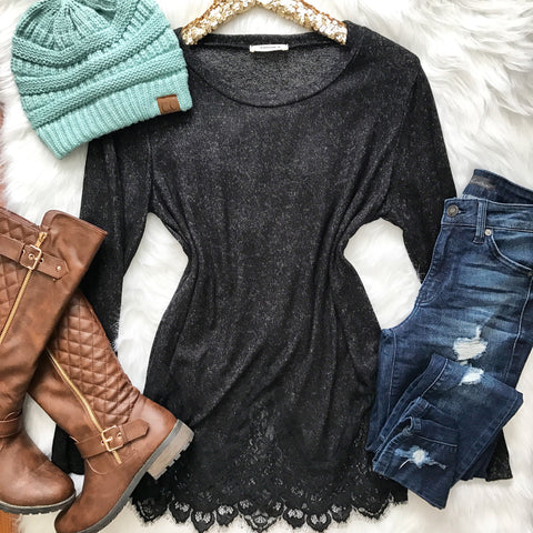Winter Wonderland Sweater - Black