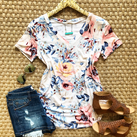 A Million Dreams Floral Top