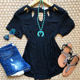 Romantic Revival Top - Black - Collette's Closet Boutique