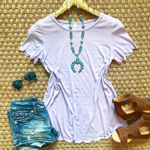Simply Scalloped Top