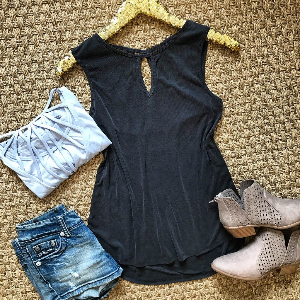 Cruise Casual Tank - Black - Collette