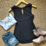 Cruise Casual Tank - Black - Collette's Closet Boutique