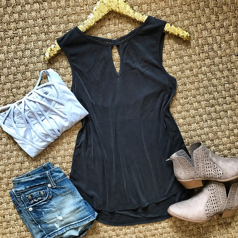 Cruise Casual Tank - Black