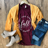 Sweet Fall Top