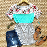 Only The Best Floral Top - Collette's Closet Boutique