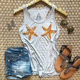The Ultimate Mermaid Tank - Grey - Collette's Closet Boutique