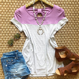 Sweet Lavender Bow Top - Collette's Closet Boutique