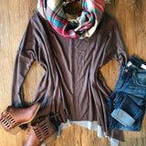 Can't Stop Loving You Tunic - Collette's Closet Boutique