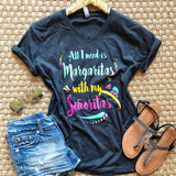 Margaritas With My Señoritas Top - Collette's Closet Boutique