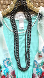 Silver Beaded Necklace - Collette's Closet Boutique