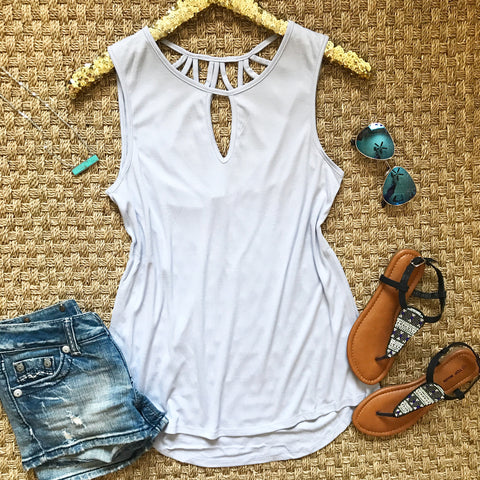 Cruise Casual Tank - Lavender
