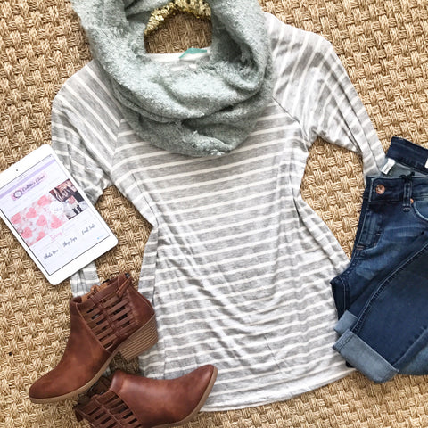 Back To Stripes Top
