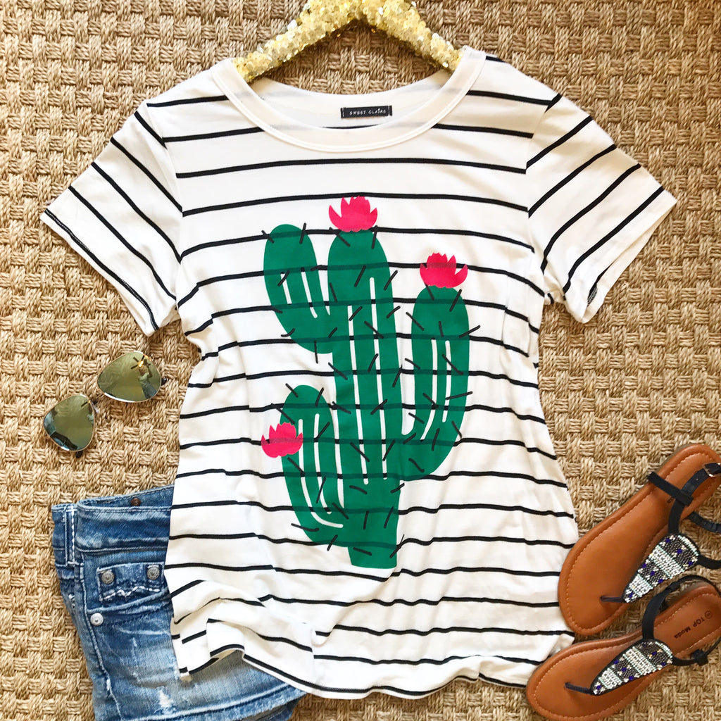 Cute Cactus Top - Collette