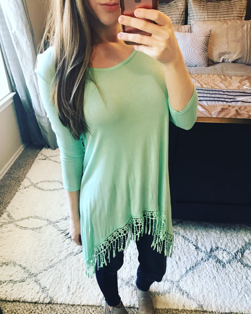 All About That Fringe Tunic - Collette