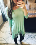 All About That Fringe Tunic - Collette's Closet Boutique