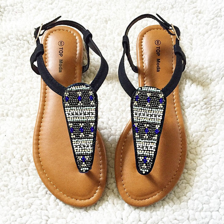 Just Bead It Sandals