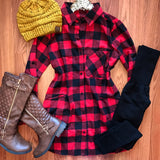 Cozy In Front Of The Fire Tunic - Collette's Closet Boutique