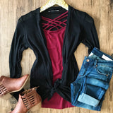 Time For Love Cardigan - Collette's Closet Boutique