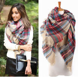 Heart Breaker Blanket Scarf - Beige - Collette's Closet Boutique