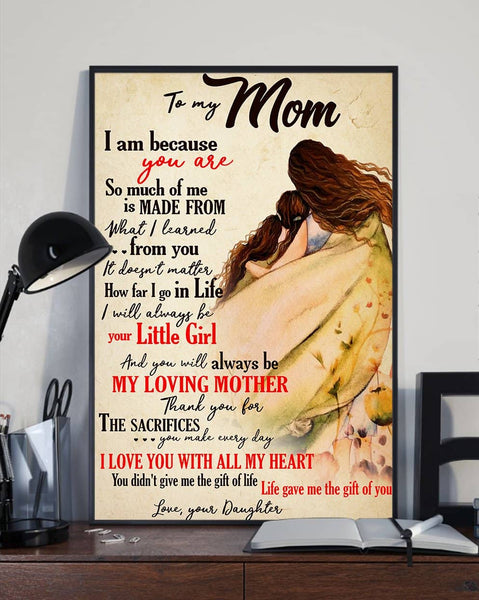 meaningful mother's day poster