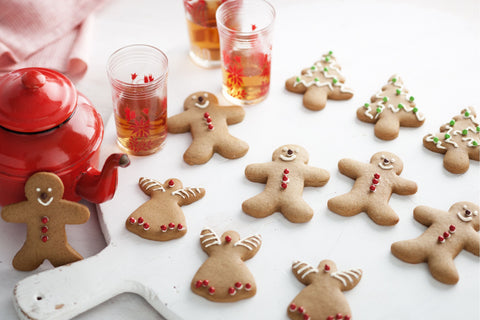 Traditional Christmas biscuits