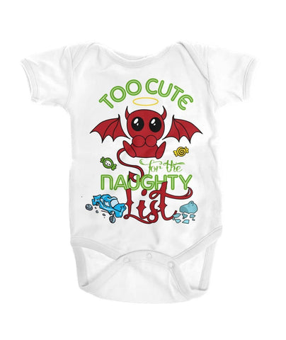 Too cute for the naughty list Shirt - Happy Father's Day 2020