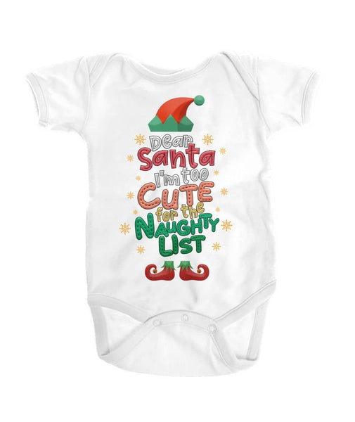 Lovely Christmas Gift For Baby - Too Cute For Naughty List Shirt - Happy Father's Day 2020