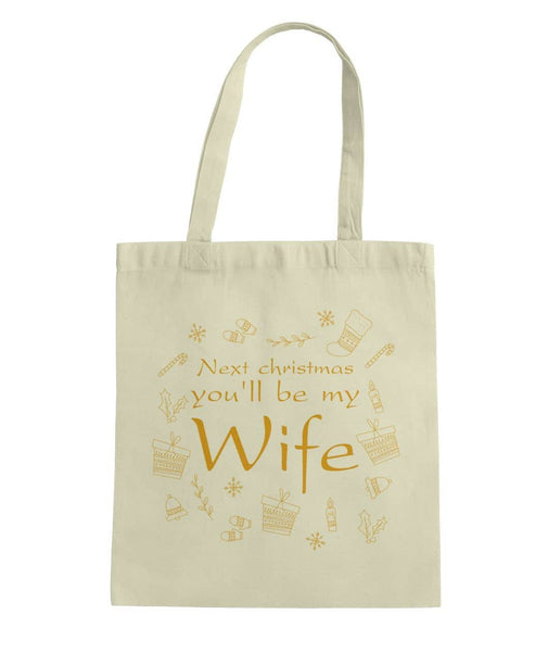 Gift for Fiancee Tote Bag - Not The Worst Gift