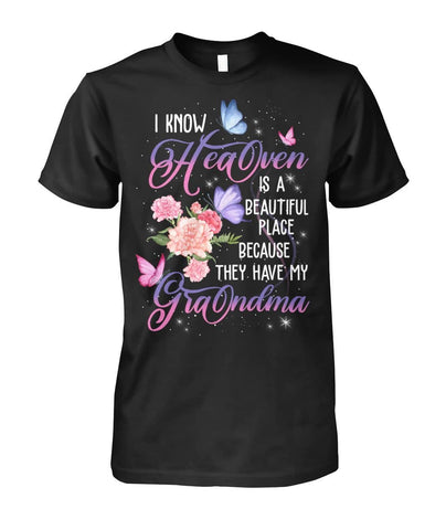 Family Shirt - Heaven Have My Grandma - Happy Father's Day 2020