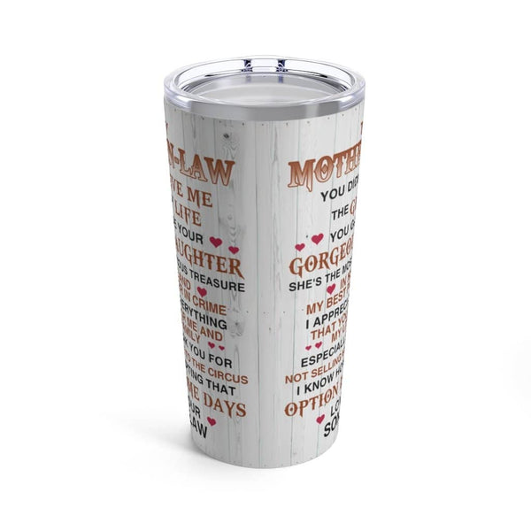 Gifts For Mother In Law Ideas Travel-Size Tumbler 20oz