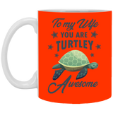 Wife Turtley Awesome Mug - Happy Father's Day 2020