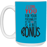 Funny Gift For Boyfriend Mug - I Love Your Cock - christmas 2019