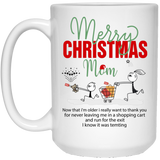 Merry Christmas Mom - Funny Xmas Gift Ideas For Mother - Happy Father's Day 2020