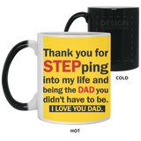 Thank You Stepdad Mug - christmas 2019