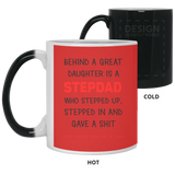 Funny Christmas Gift For StepDad - Behind A Great Daughter - Happy Father's Day 2020