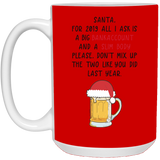 Dear Santa Mug - Funny Christmas Gift Ideas For Whole Family Members - Happy Father's Day 2020