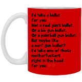 I'd Take A Bullet For You - Funny Inexpensive Gift For Dad - Happy Father's Day 2020