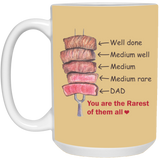 Dad You are The Rarest of Them All Merry Christmas Mug - Not The Worst Gift