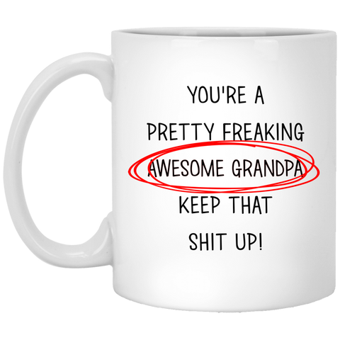 Best Christmas Gifts For Awesome Grandpa  Mug - christmas 2019